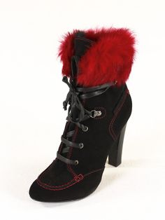 Your place of fashion Italian Shoes, Black Boots, Designer Shoes, Heeled Boots, Boutique, Heels, Red, Stuff To Buy, Italy