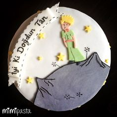 Le Petit Prince - Little Prince Cake Prince Cake, Prince Birthday, The Little Prince, Cakes For Boys, Candy Apples, Cupcake Cookies, Cake Art, Cake Pops, Cake Toppers