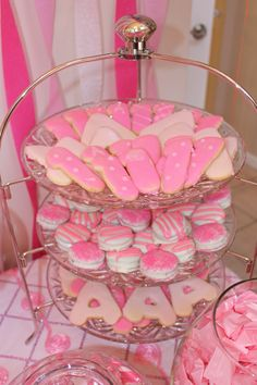 Chocolate covered Oreos and sugar cookies.