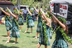 Hula Connection, San Clemente, performing at the 2012 Polynesian Festival, May 26, 2012. #hula