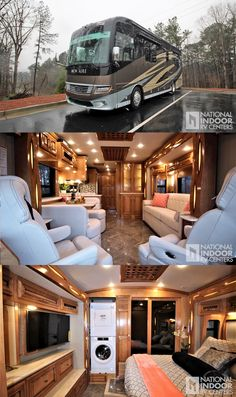 Luxury Campers, Luxury Motorhomes, Luxury Rv Living, Ski Nautique, Luxury Van, Luxury Private Jets, Bus House, Best Luxury Cars, Camper Interior