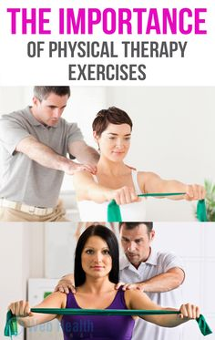 The importance of physical therapy exercises. :#fitness
