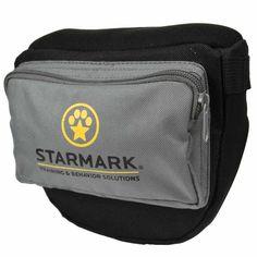 "Starmark Dog Pro Training Treat Pouch Black-gray 6.75"" X 10.5"" X 3.5"""