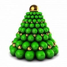 kerstboom van ballen