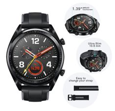 Huawei Watch GT Per Attività Indoor e Outdoor Smartwatch, Huawei Watch, Casio Watch, Iphone Ios 9, Wi Fi, Bluetooth, Android Wifi, Train Activities, Caller Id