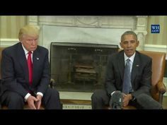 President Barack Obama Meets With President Elect Donald Trump