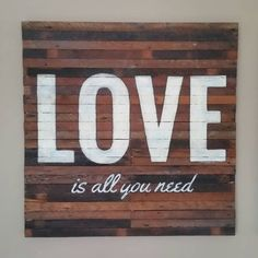 #love #sign #reclaimed #vancity #shoplocal #254designs #vintage #is #all #you #need #be #grateful #shoplocal #vancity Reclaimed Wood Wall Art, New Sign, Love Is All, Repurposed, Signs, Grateful, Instagram Posts, Vintage, Home Decor
