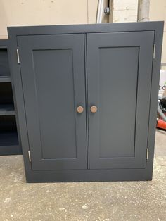 We love this bathroom unit. This gorgeous colour is Farrow and Ball's Off Black. Contact us for a quote today! Pine Furniture, Solid Wood Furniture, Bathroom Sink Units, Crafts Beautiful, Furniture Companies, Plank, Armoire, Locker Storage, The Unit