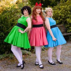 Powerpuff Girls Group Costume Ideas #Group Halloween Costume Ideas for Women…