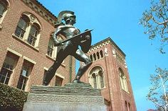 Tommy Trojan on the USC campus.