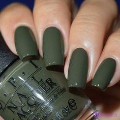 I love this deep olive green! #nails #acrylics #acrylicnails #gelnails #coffinnails #almondnails #affiliate #nailpolish