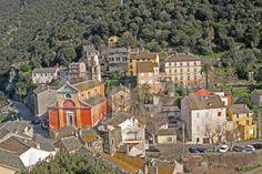 Nonza - Villes et villages Corse - My Corsica Corsica, Paris Skyline, Mansions, House Styles, Travel, Cities, Morocco, Earth, Viajes
