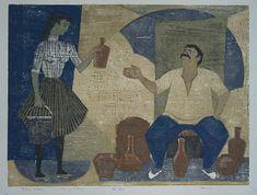 Henrik Finne (1898-1992): Henrik Finnes tresnitt Painting, Art, Pictures, Art Background, Painting Art, Kunst, Paintings, Performing Arts, Painted Canvas