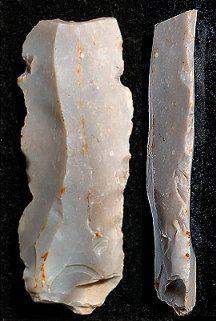 Mesolithic flint tools