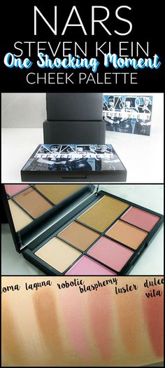 NARS Steven Klein Collaboration One Shocking Moment Face Palette - Notes from My Dressing Table