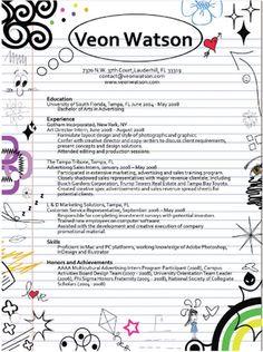 Een bijzonder creatief CV ontwerp