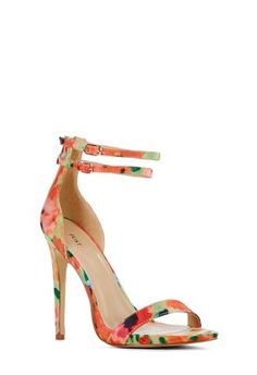 #Florals are all the rage this #spring  Im in LOVE with this sandal! #justfabapparel