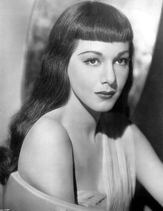 Bunny's Victory: Pinup Girl of the Month: May: Maria Montez