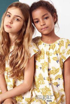 Nicole y Zoe de Sugar Kids para Massimo Dutti