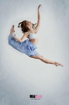 Dance Spirit magazine - Google+  Photo of the day: Emily Rodriquez. (Photo by Mia Pink Photography)