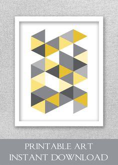 Printable Art Modern Abstract Art Geometric Print Abstract
