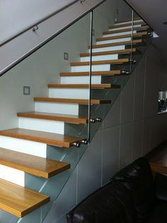 Custom Made Mono Beam Staircase, Internal Timber Stairs