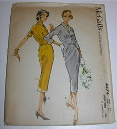 mccall's dress 4474, 1958 | Flickr - Photo Sharing!