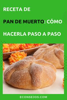 Pan de Muerto - Receta Mexican Sweet Breads, Real Mexican Food, Mexican Food Recipes, Dinner Recipes, Slow Cooker Recipes, Crockpot Recipes, Pan Bread, Italian Dishes, Carne