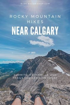 A review of some of the best and most accessible hikes near Calgary. From summits to ice caves to water falls to family friendly trails, they're all here. Alberta Travel, Ice Caves, Rocky Mountains, Calgary, Trail, Waterfall, Hiking, Explore, Walks
