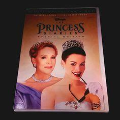 The Princess Diaries (Disney DVD, 2-Disc Set, Special Edition)