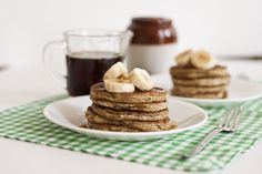 grain-free egg-free pancake recipes (using plantains and psyllium husk flakes)