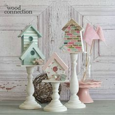 The Wood Connection - Birdhouse Trio, $19.00 (http://thewoodconnection.com/birdhouse-trio/)