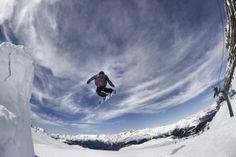 Snowboarding in the Skiarea Campiglio Dolomiti di Brenta
