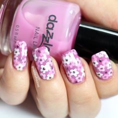 #nail #nails #nailart #flowernails