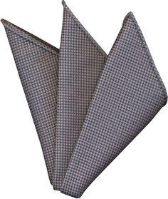 Gray Cashmere Pocket Square #9