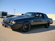"1987 Grand National ""Movie Car"" aus The Fast and Furious Custom Muscle Cars, Chevy Muscle Cars, Custom Cars, My Dream Car, Dream Cars, 1987 Buick Grand National, Donk Cars, Pontiac Grand Am, Buick Regal"