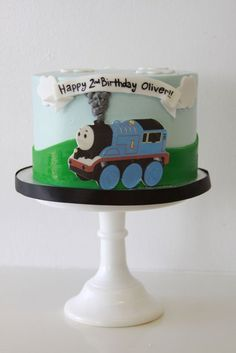 Thomas the Train Cake  | My Sweet and Saucy - Part 2