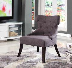 New Replica Grant Featherston Armchair Footstool Chair Retro Bedroom Grey