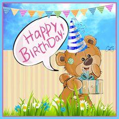 CatS kaartjes - Dag- en avondplaatjes - Free Birthday and Greeting cards Happy Birthday Kids, Cat Birthday, Birthday Cards, Free Birthday, E Cards, Greeting Cards, Birthdays, Children, Bday Cards