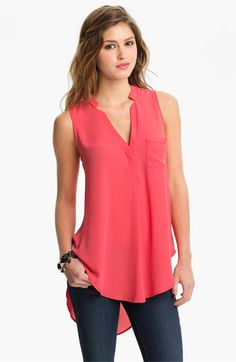 Lush Flowy Tunic Shirt - so cute for summer - and lots of colors!