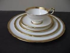 Queen Elizabeth's former china pattern by Aynsley China