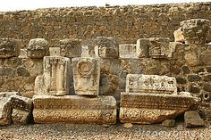 Capernaum in Jesus' Time.  Capernaum is the city where Jesus performed the most miracles. He healed the woman with the bleeding probem here.    The demon possessed man in the synagog and many more.