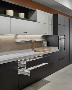 Trying to find luxury kitchen design motivation? Inspect out our top 63 favorite instances of seriously fashionable luxury kitchens and special. Luxury Kitchen Design, Kitchen Room Design, Contemporary Kitchen Design, Kitchen Cabinet Design, Luxury Kitchens, Home Decor Kitchen, Interior Design Kitchen, Cool Kitchens, Kitchen Ideas