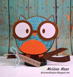 Owl Always Love You.. Cricut card - bjl