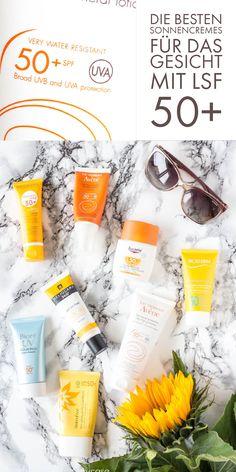 Die besten Sonnencremes für das Gesicht mit LSF 50+ - der große Verlgeich