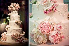 Spring Wedding Cake...soooo pretty! it's the one <3