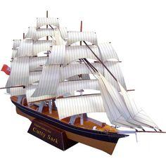 Sailship:Cutty Sark,Vehicles,Paper Craft,United Kingdom [England],ship,sea,tea,Sailing Ship