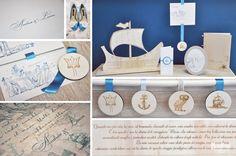 Wedding stationary Odysseus segnaletica e tableau