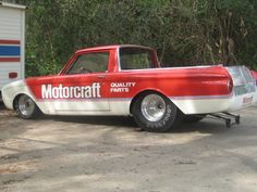 1960 FORD RANCHERO DRAG RACE CAR