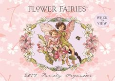 Flower Fairies A4 Family Planner 2017